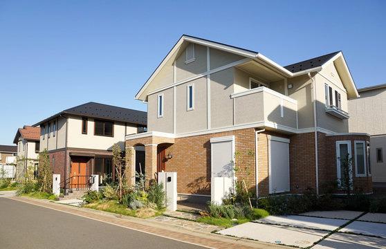日本の戸建て住宅